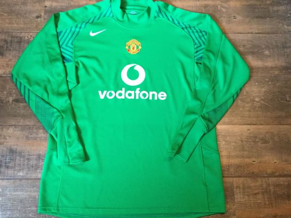 2005 2006 Manchester United Gk Goalkeeper Football Shirt Adults XL